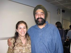 Pippa Virdee and Virinder Kalra