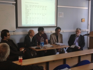Round table discussion chaired by Ian Talbot