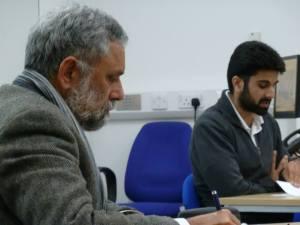 Parmbir Gill with Pritam Singh